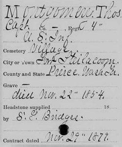 Capt Thomas J. Montgomery