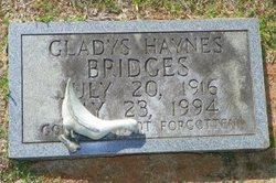 Gladys [Haynes] <i>Burnett</i> Bridges