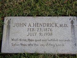 Dr John Alexander Hendrick, Sr