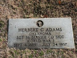 Sgt Herbert C. Adams
