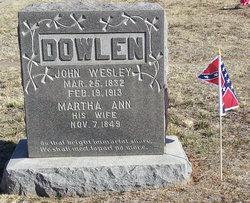 John Wesley Dowlen
