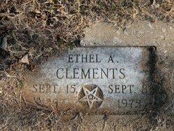 Ethel Allie <i>King</i> Clements