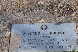 Walter L. Boone