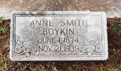 Anne Annie <i>Smith</i> Boykin