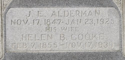Helen Balendine <i>Cooke</i> Alderman