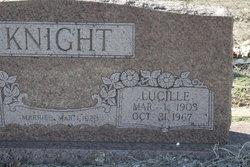 Lucille <i>Culpepper</i> Knight