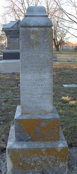 Julia A. <i>Stemple</i> Woods