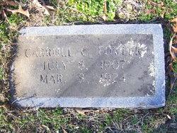 Carroll Cleveland Fowler