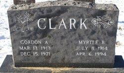 Myrtle B Clark