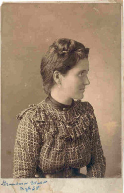 Nancy Mary Mollie <i>Hester</i> Ward