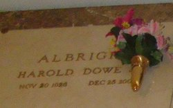 Harold Dowe Albright, Jr
