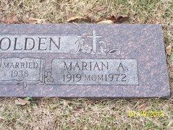 Marian A. Golden