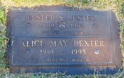 Alice May <i>Oakason</i> Dexter