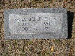 Rosa Belle <i>Runnells</i> Crum
