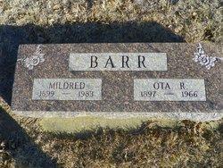 Mildred <i>Bixler</i> Barr