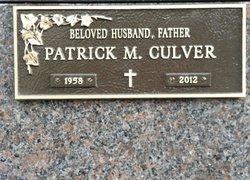 Patrick Michael Culver