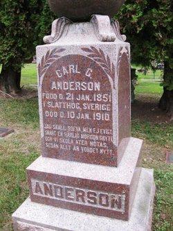 Carl G Anderson