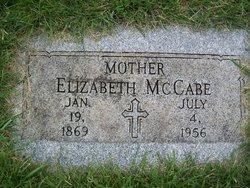 Elizabeth Lizzie <i>Sheedy</i> McCabe