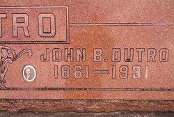 John Benton Dutro
