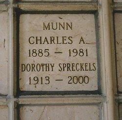 Dorothy <i>Spreckels</i> Munn