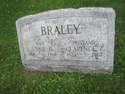 Jennie May <i>Hitchcock</i> Braley
