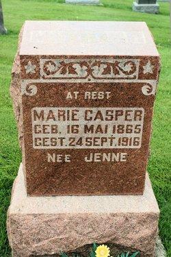 Marie M <i>Jenne</i> Casper