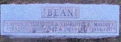 Charlotte <i>Blanchard</i> Bean