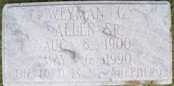 Weyman Graves Allen, Sr