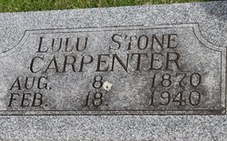 Lulu <i>Stone</i> Carpenter