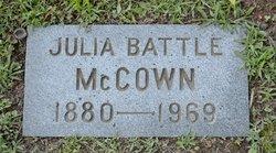 Julia <i>Battle</i> McCown