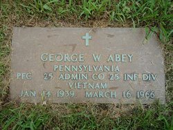 PFC George Wayne Abey