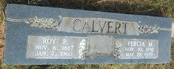 Percia M. <i>Coats</i> Calvert