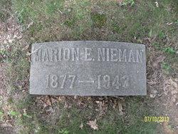 Marian E <i>Ebersol</i> Nieman