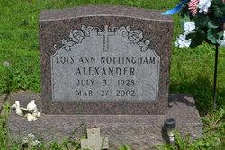 Lois Ann <i>Nottingham</i> Alexander