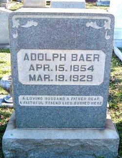 Adolph Baer