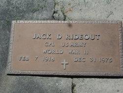 Jack Douglas Rideout
