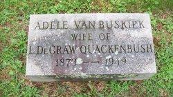 Adele <i>Van Buskirk</i> Quackenbush