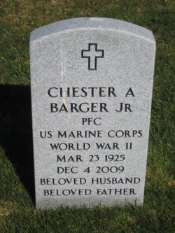Chester A Barger, Jr