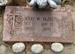 Mary W. <i>Newingham</i> Yazel