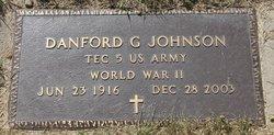 Danford Gustaf Johnson, Sr