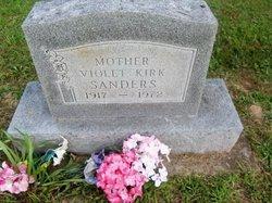 Violet <i>Hill</i> Kirk / Sanders