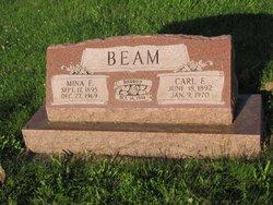 Mina E <i>Snyder</i> Beam