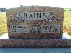 Benjamin Clifford Bc Rains