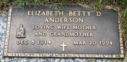 Elizabeth Dorothy <i>Dowling</i> Anderson