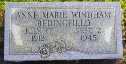Anne Marie <i>Windham</i> Bedingfield
