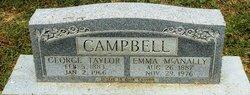 Mattie Emily Emma <i>McAnally</i> Campbell