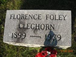 Florence <i>Foley</i> Cleghorn