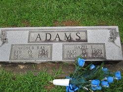 Hazel Violet <i>Evans</i> Adams