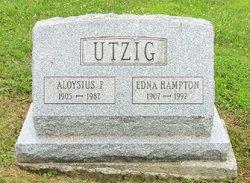 Edna Mae <i>Hampton</i> Utzig