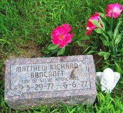 Matthew Richard Bancroft